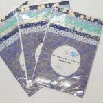 kit papiers bleus