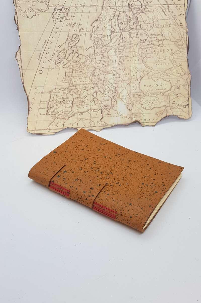 carnet voyage rouge